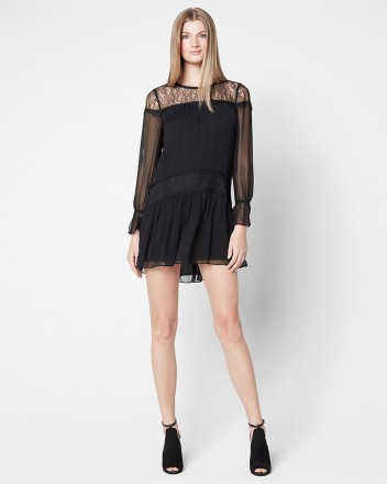 Ramy Brook Watson Dress   Black