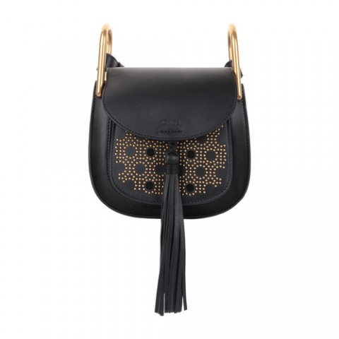 Chloe Hudson Mini   Black/Gold