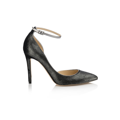 Jimmy Choo Lucy D'Orsay Heel   Anthracite