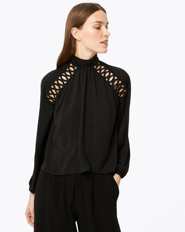 Ramy Brook Makenna Top   Black