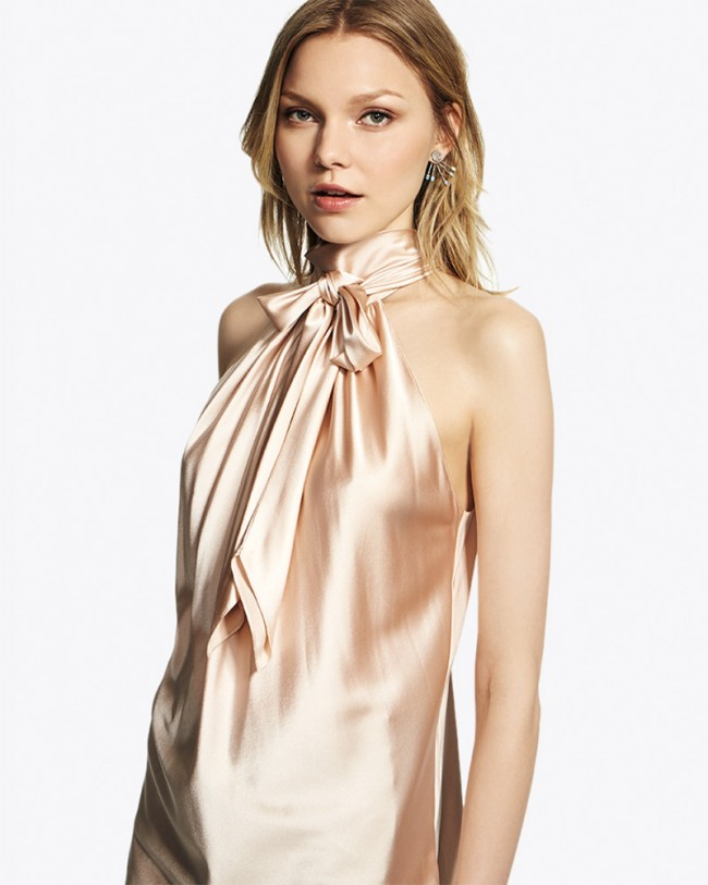 Ramy Brook Paige Top   Light Pink