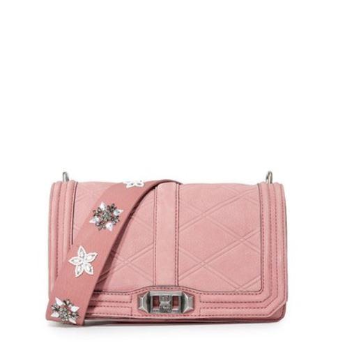Rebecca Minkoff Love Crossbody   Pink