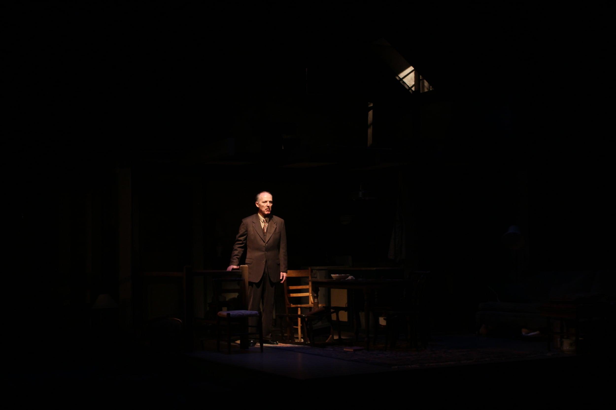 Otto Frank returns to the Annex