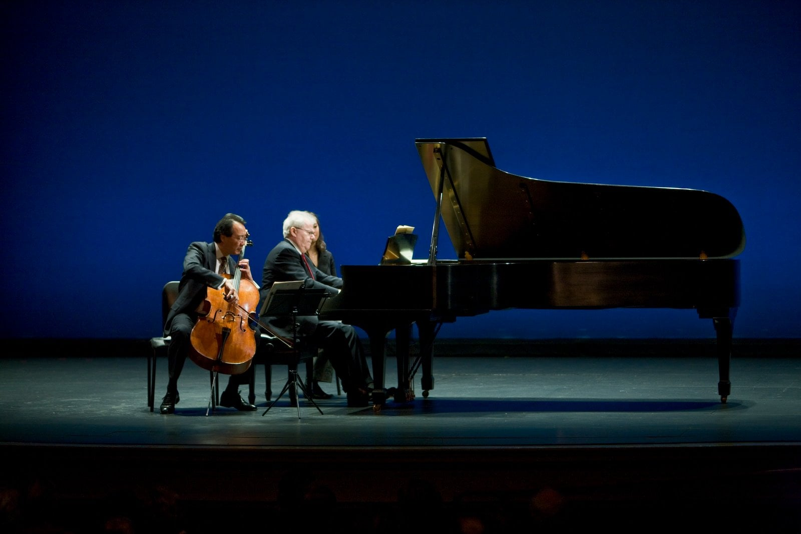 Emanuel Ax and Yo-Yo Ma