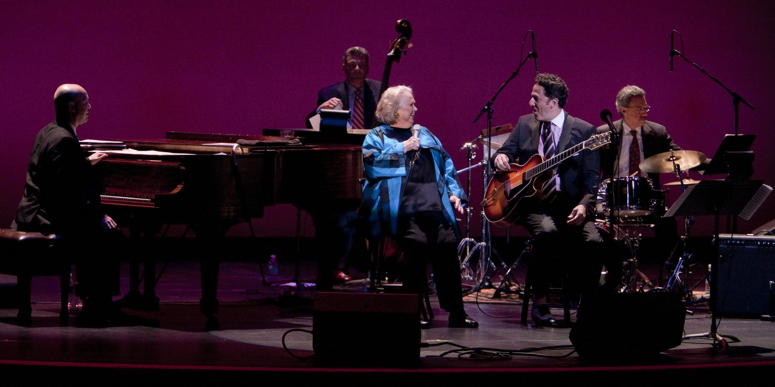 John Pizzarelli and Barbara Cook