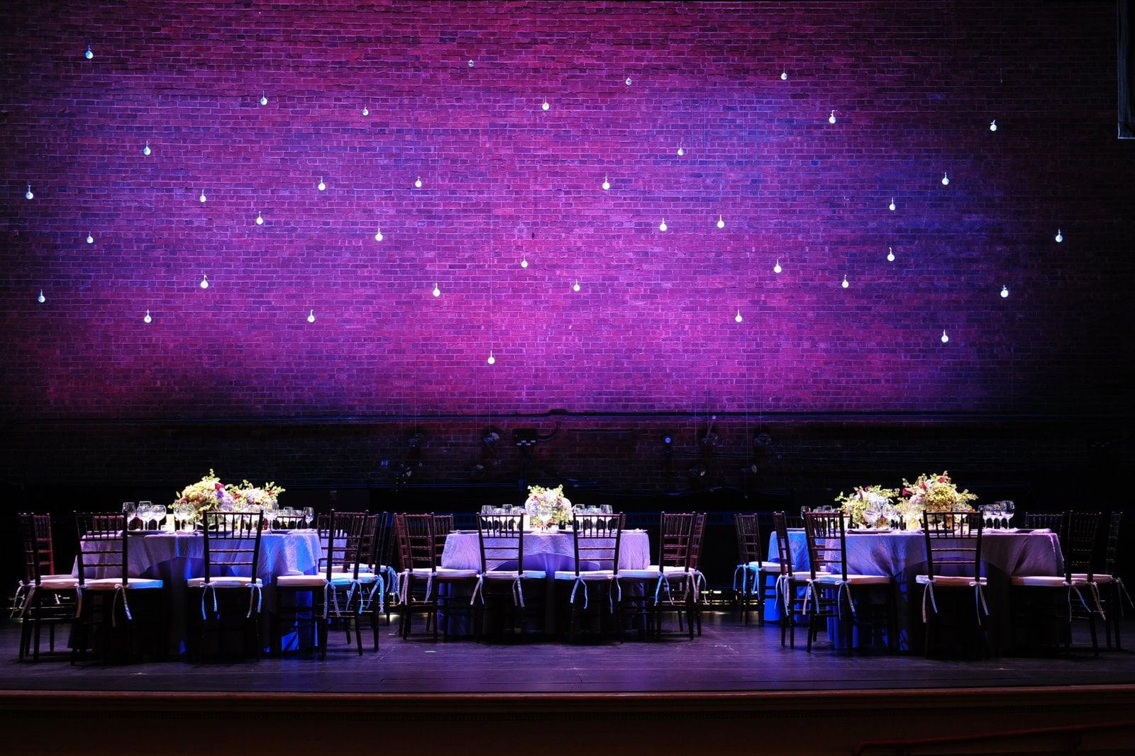 On Stage Dinner Party