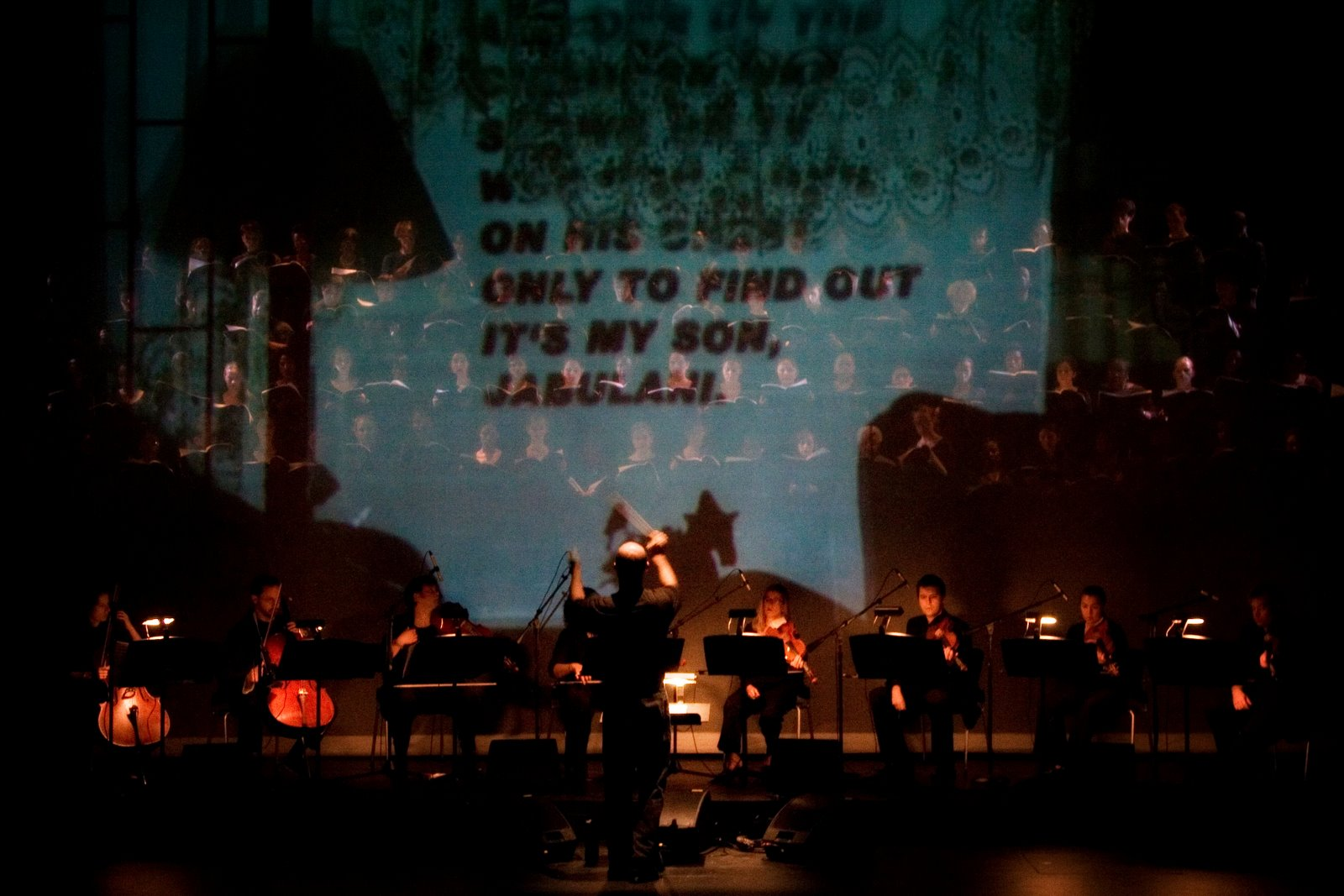 Chorus with Projections