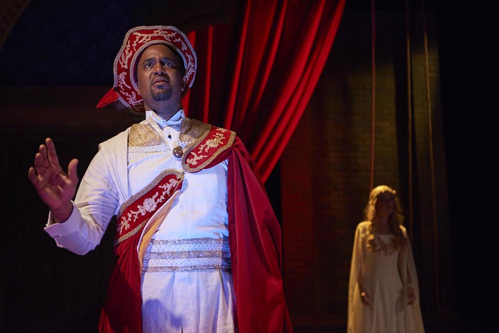 Aldridge and Ellen, as Othello and Desdemona