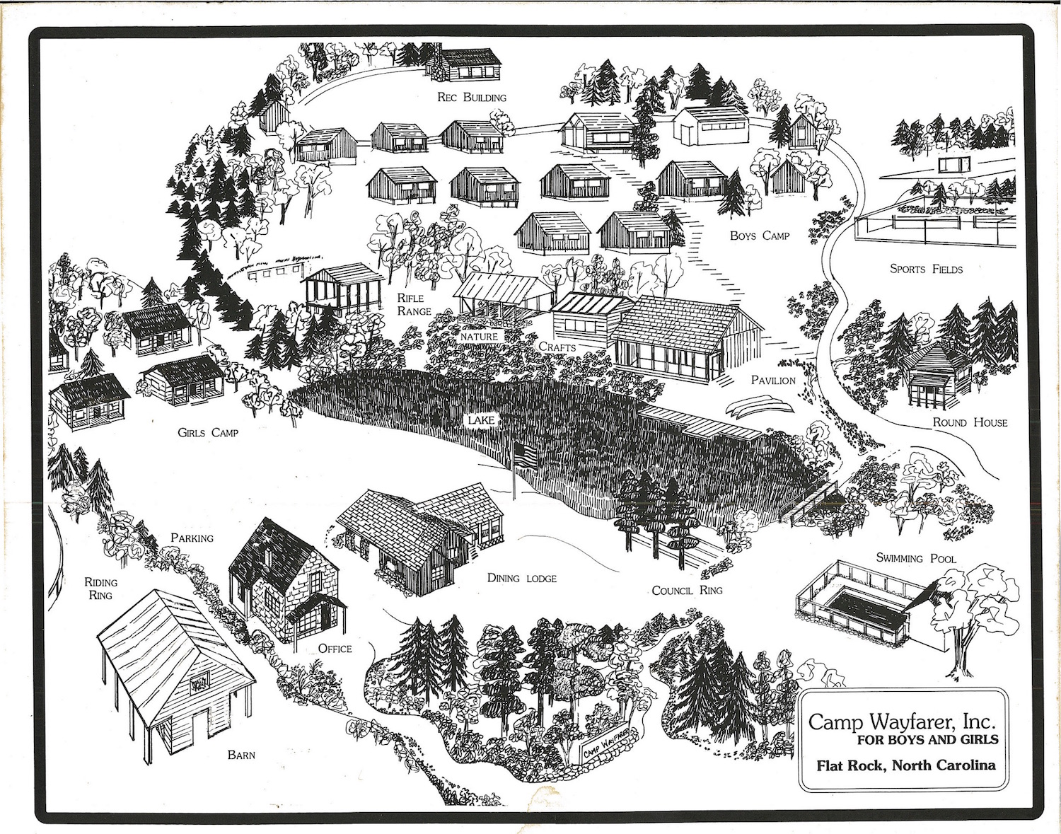 Camp Map 1990s