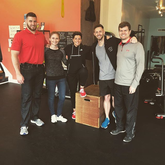 If you don't know already, I recently got certified to be a personal trainer and I have the opportunity to work at this great gym QFit with some amazing people! Excited for this new adventure!