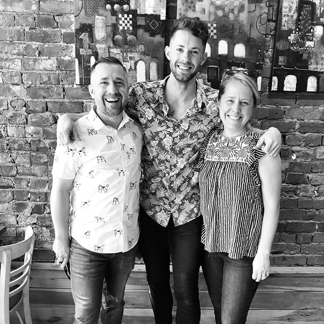 Could not be more thankful for these two! When I first moved to Cincinnati  I had no clue where I was going to work but thank you Jesus for opening this opportunity here! Thank you Justin and Emily for letting me work at @carabellocoffee! I have learned a lot and will never forget this special season :) love you guys a ton! @carabelloartcart  P.S. I will still always be at the shop haha got to get that good coffee :)