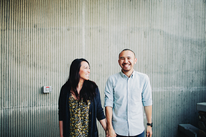 Orange Engagement Photography . Jason & Nancy