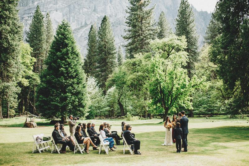 Yosemite Wedding at The Ahwahnee Hotel . Matt & Cleo