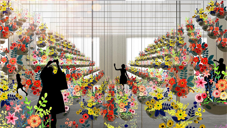 Terrain Work_Unfolding Blooms_Landscape Art