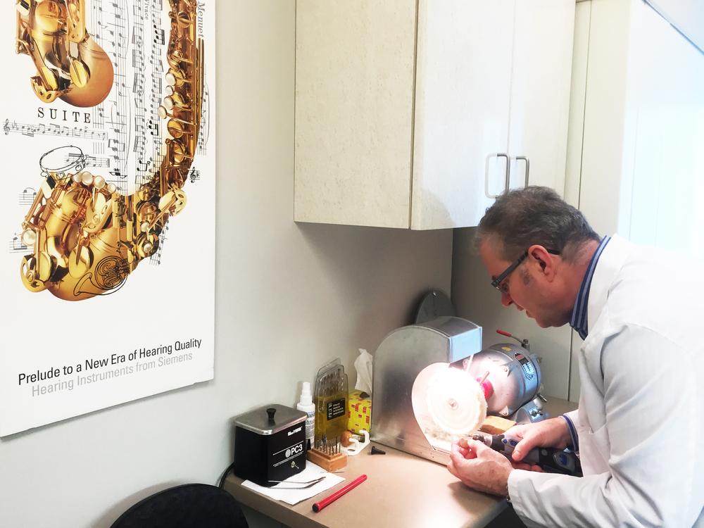 Larry Preparing Hearing Loss Treatment Abbotsford.JPG