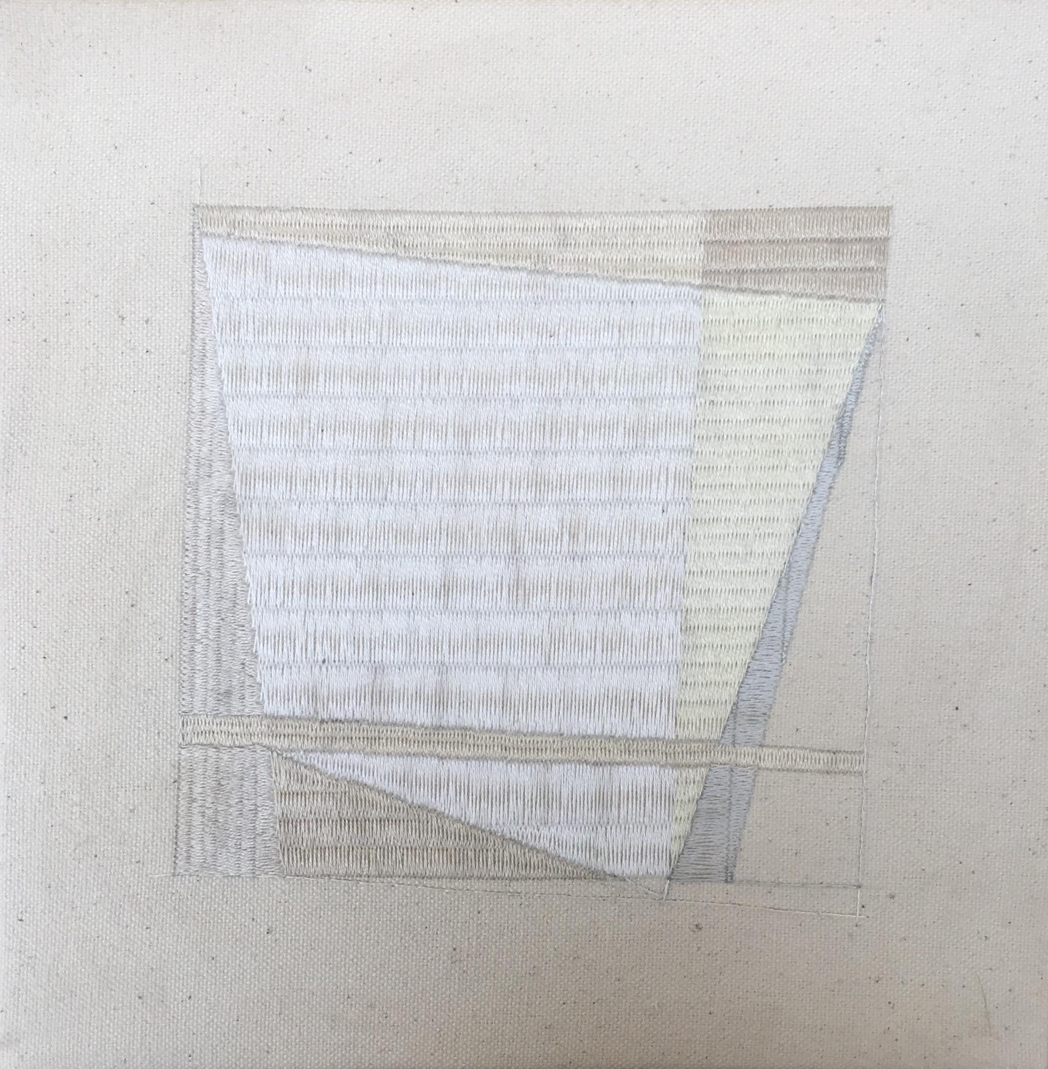 sketch #2 - 2018DMC thread on stretched canvas