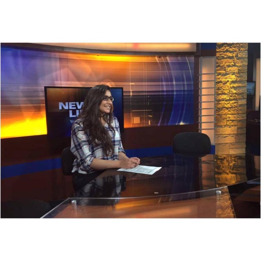 """In Wisconsin, a local TV, also my dream job"""