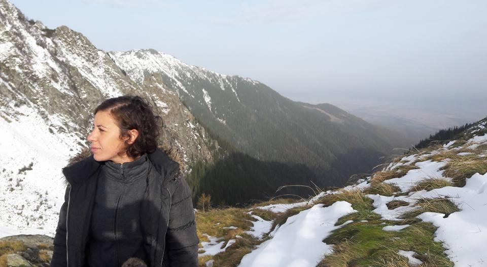 """In a trip to the Fagaras mountains in Romania"""