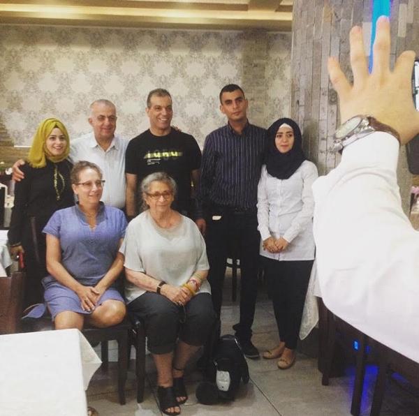 The Israeli President Wife's visit, Umm el Fahem, 2015.