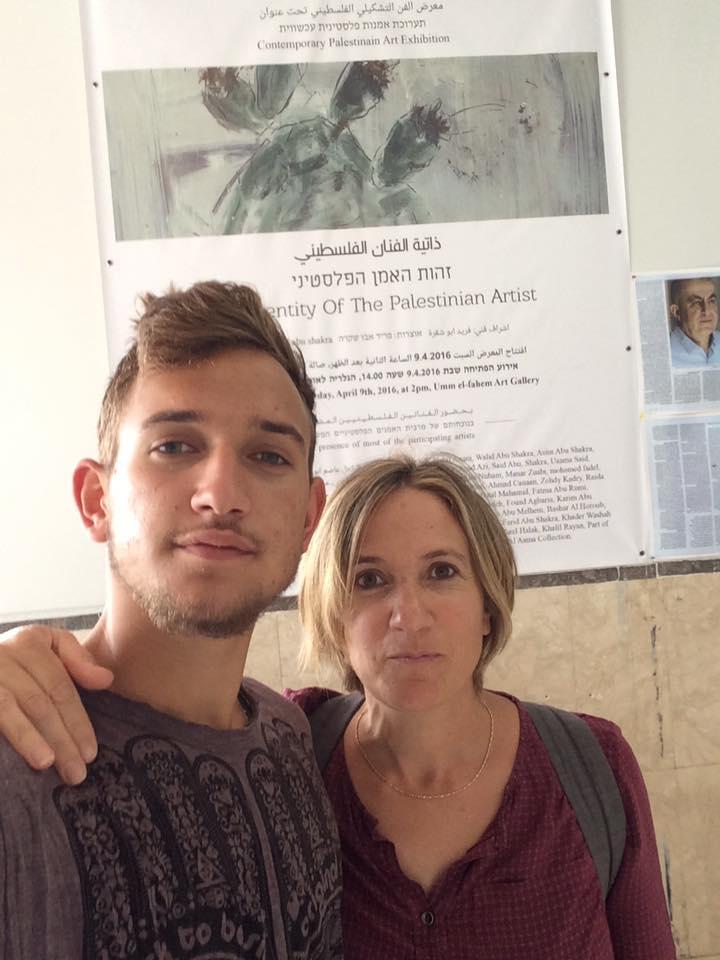 """""""With my son in Um El Fahem"""""""