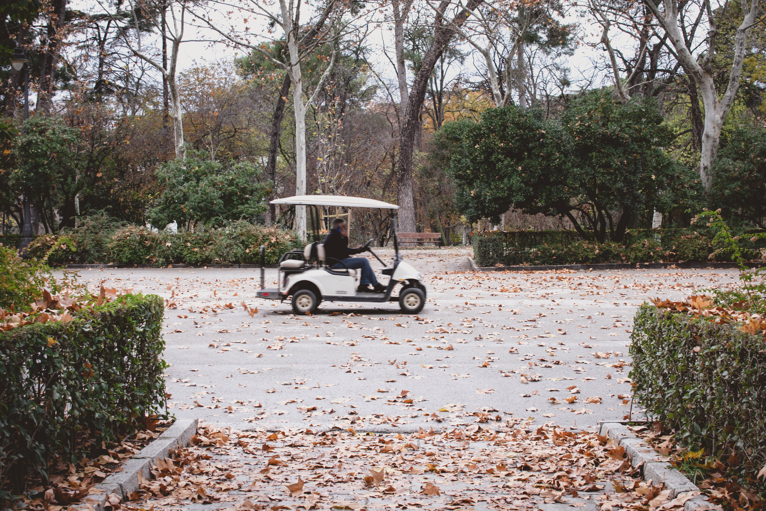 Golf Carts - Golf carts move staff efficiently around the camp, transport supplies, make water available where needed, keep adults available for emergencies. Perk: Your name, logo or custom message on the carts.