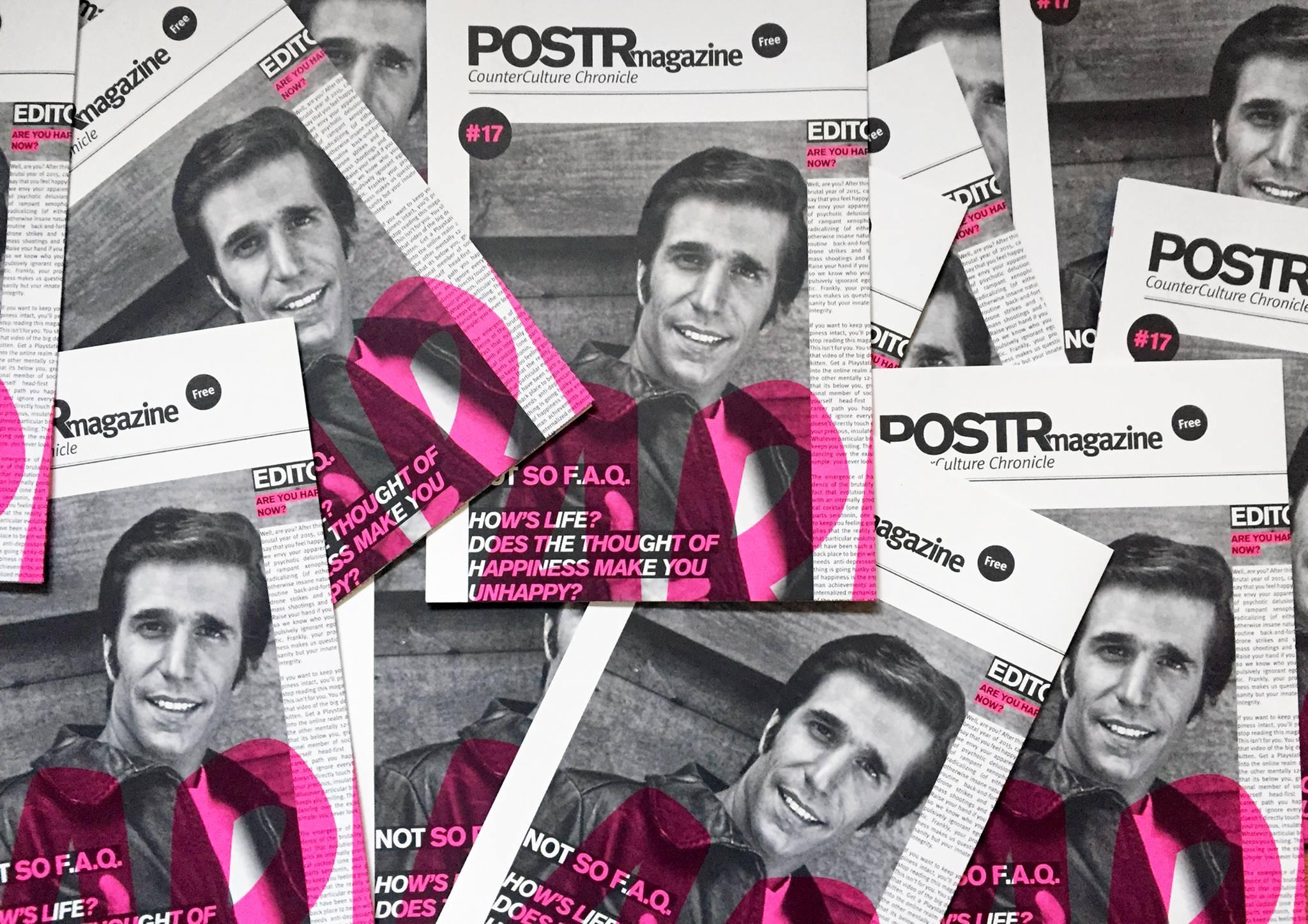 POSTRmagazine. Redactie opiniestuk voor geëngageerd magazine.