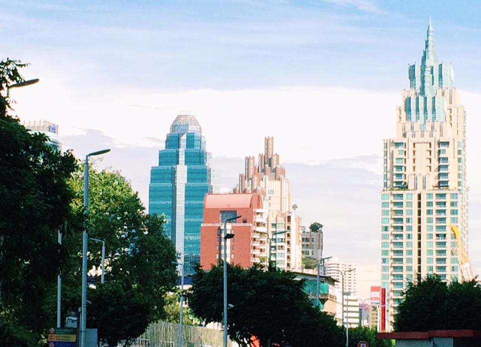 Dagboek van een werkloze. Bangkok.