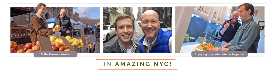 James and Jason live in amazing NYC