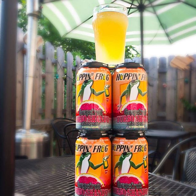 Grapefruit Turbo Shandy was definitely a favorite offered by Hoppin' Frog at last year's Ale Fest! Make sure you come this year and taste what they're servin' up:  Akronalefest.com/tickets  @hoppinfrogbrewery @craftymart  #akronalefest #akronalefest2018 #craftbeer #shoplocal