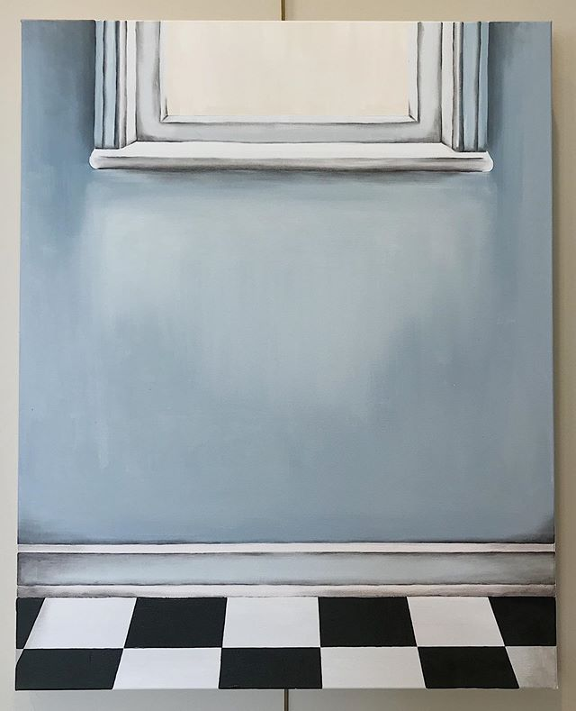 "Finally sharing one of my newest pieces, ""How'd Only I Feel It?"", currently on view at the @lyndonhouseartscenter through August!  It feels good to finally see this one to completion since I started it over a year ago 🙈 24x30, oil on canvas, 2019 . . . . . #contemporaryart #athensartist #atlantaartist #instaart #painting #sketchbook #artist  #drawing #studioscenes #doitfortheprocess  #makersmovement #carveouttimeforart  #sodomino #scwhiteart #womenartists #creativityfound #athensga #oilpainting"