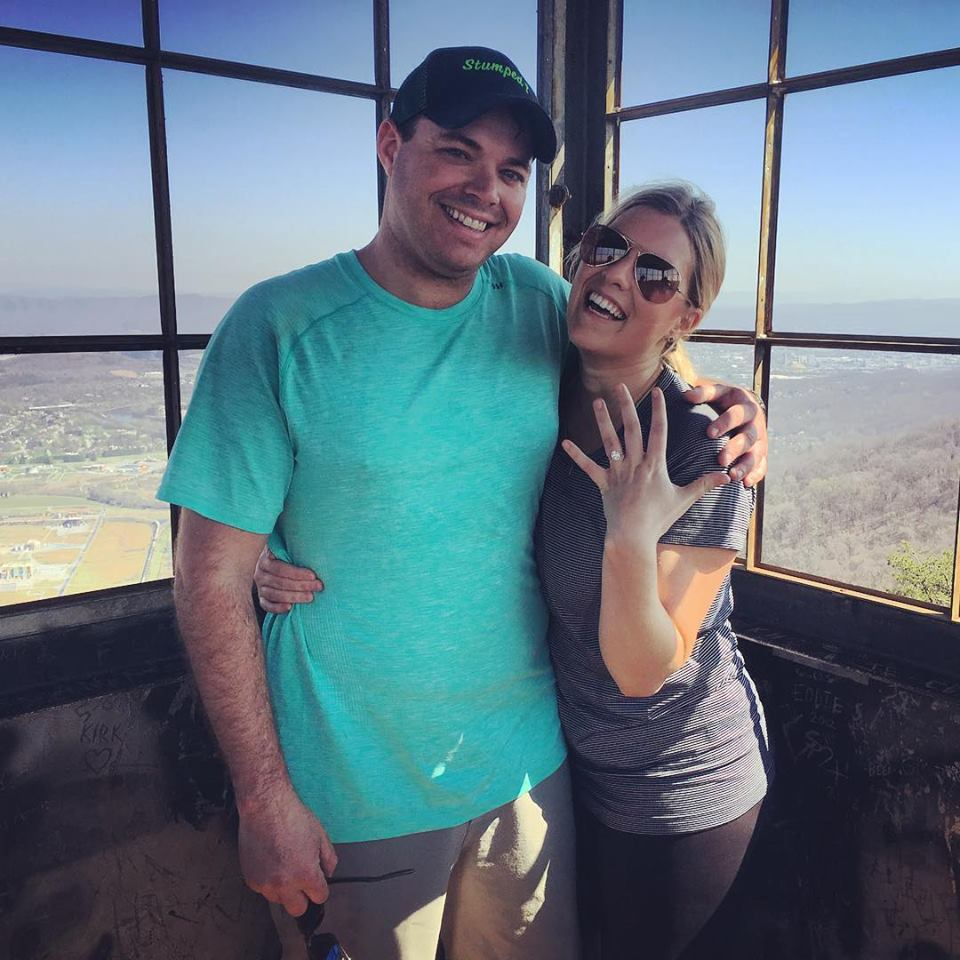 Grant &his future bride. Congrats Guys!