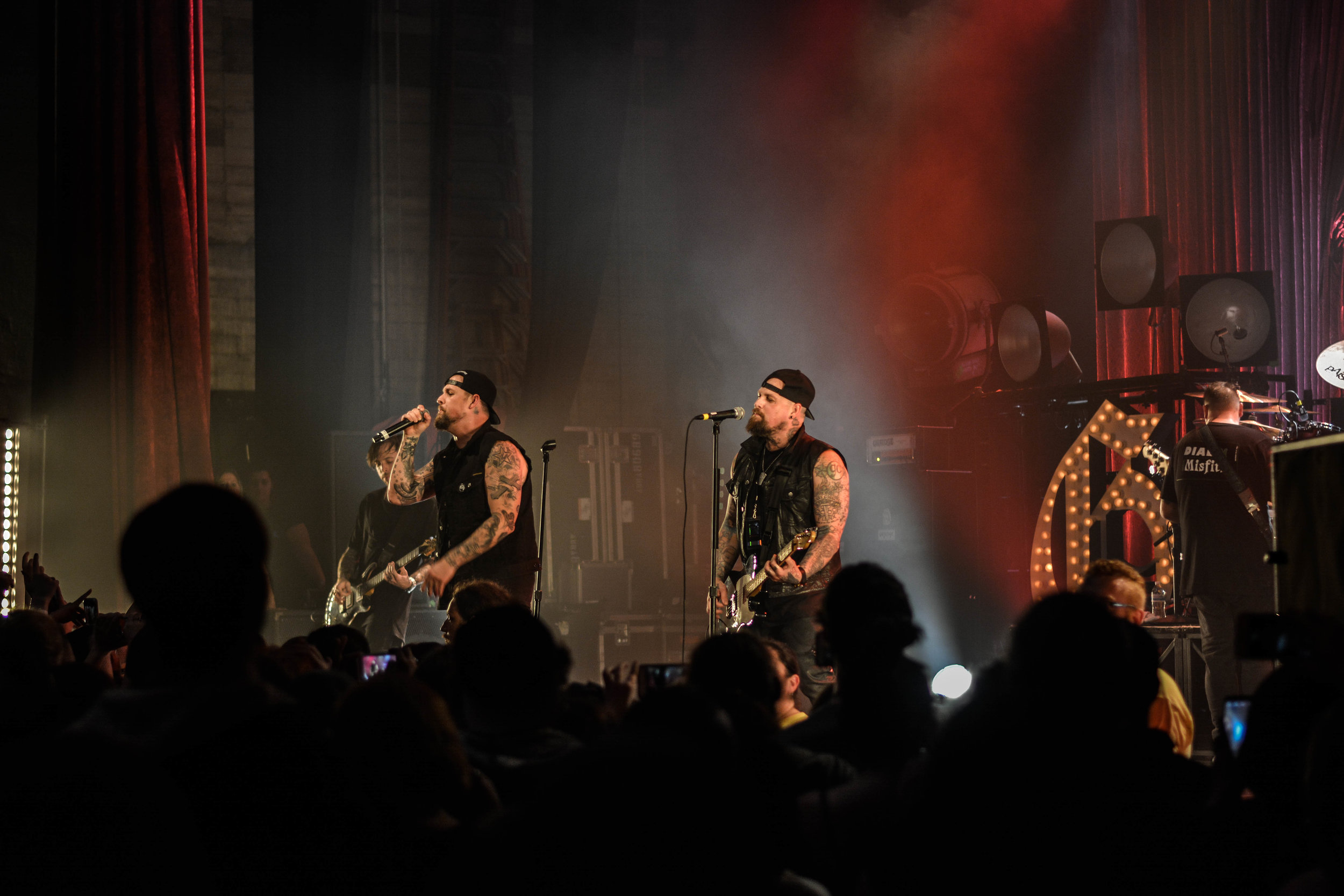 Photo by Nicolette Cunningham (10/23/16); Good Charlotte