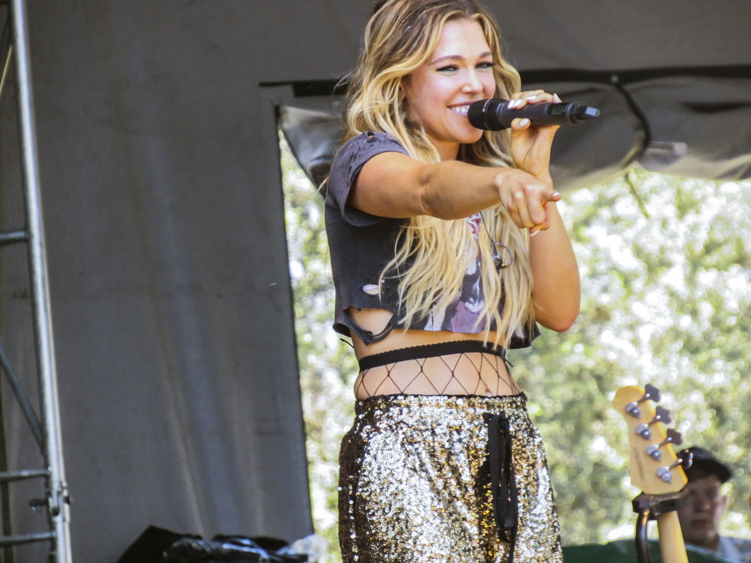 Rachel Platten performing at Arroyo Seco Weekend