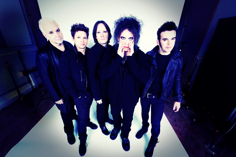 THE CURE, photo courtesy of their Facebook page