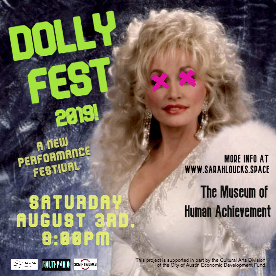 Click HERE for tix! - MouthRadio announces DOLLY FEST 2019, a new performance festival celebrating the legacy of Dolly Parton.Click HERE for Tickets!
