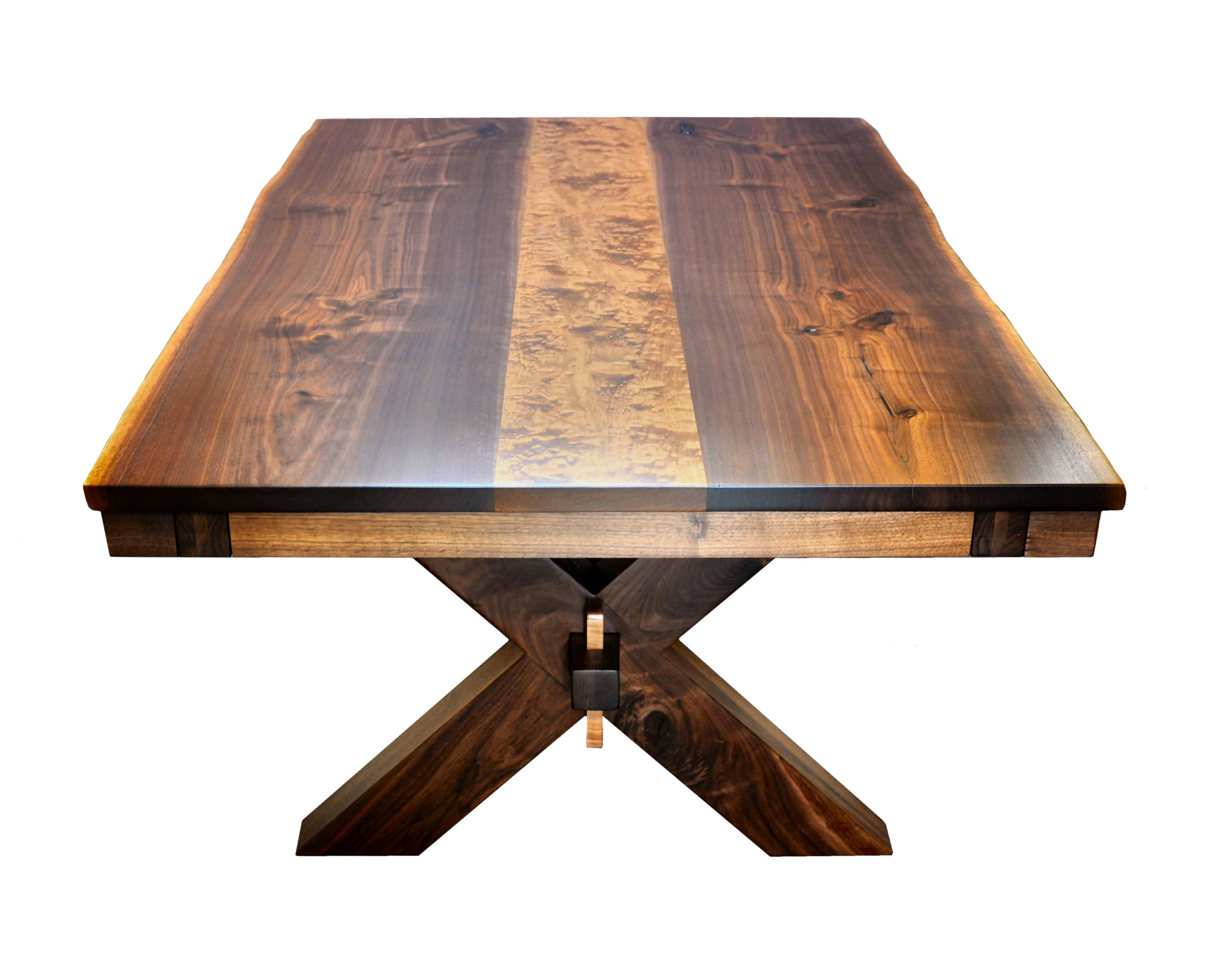 Prairie Sawbuck Table end .jpg