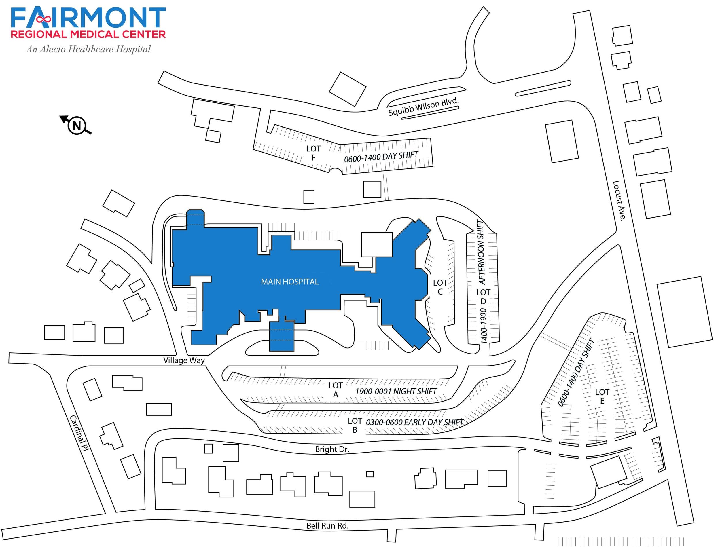 External Campus Map