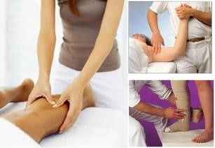 Collage of Lymphedema Therapy