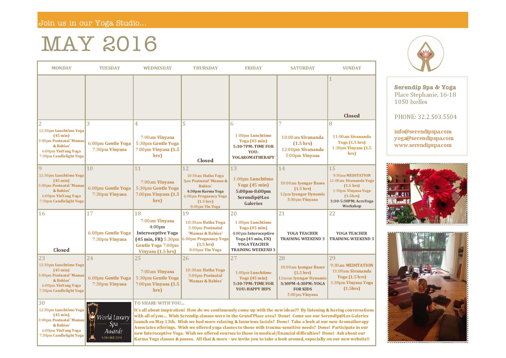 Serendip Spa and Yoga Calendar 2016_May_A4 FRONT-page-001.jpg