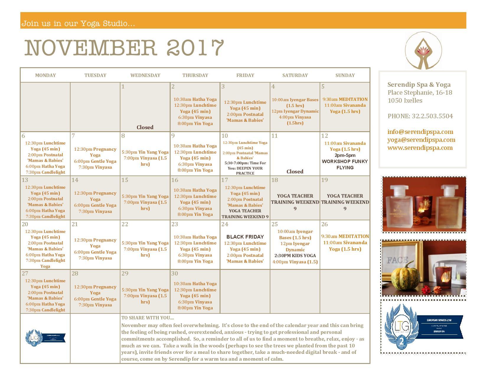 serendip spa and yoga calendar 2017_November A4 FRONT-page-001.jpg