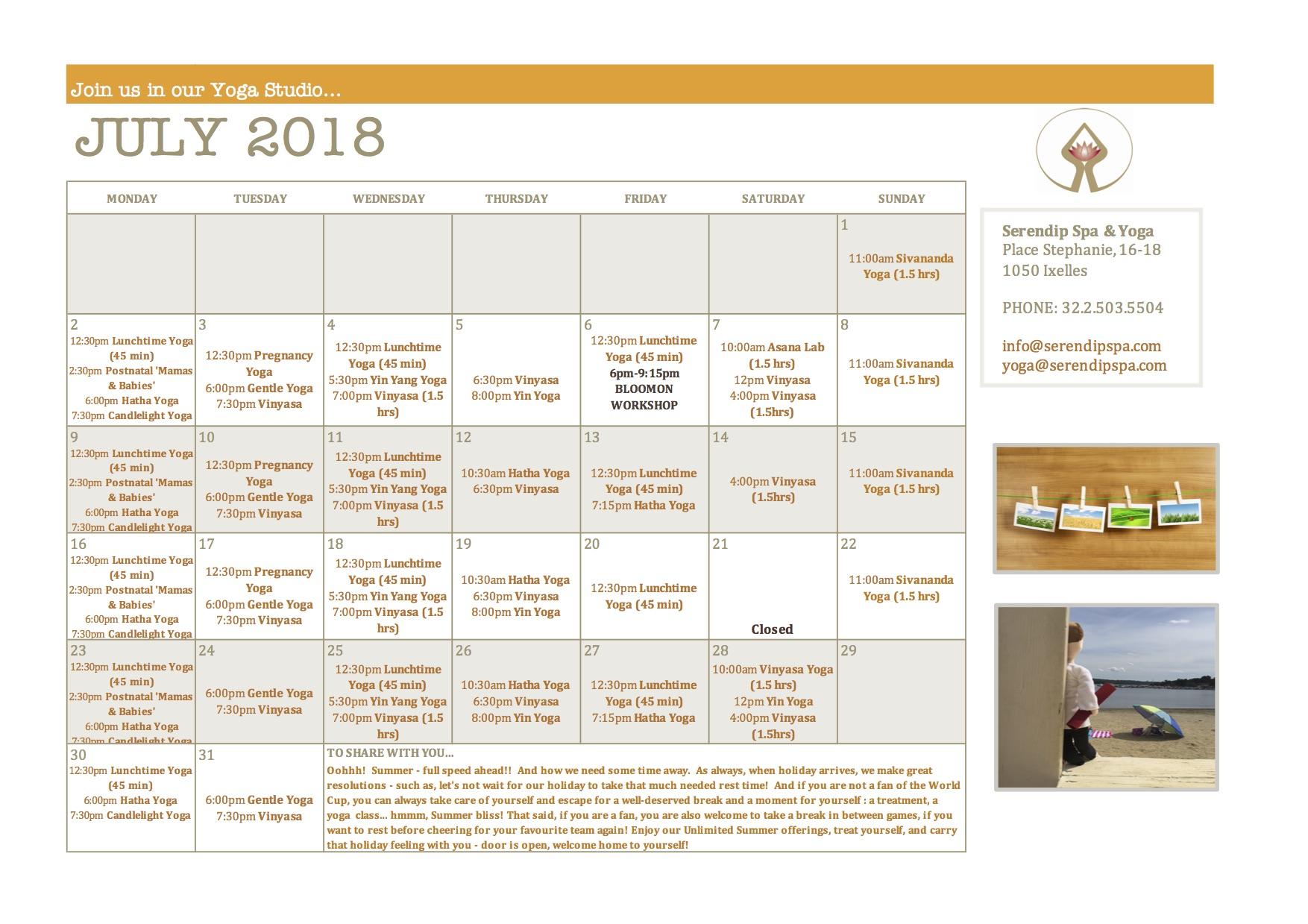 serendip spa and yoga calendar 2018_July A4 FRONT.jpg