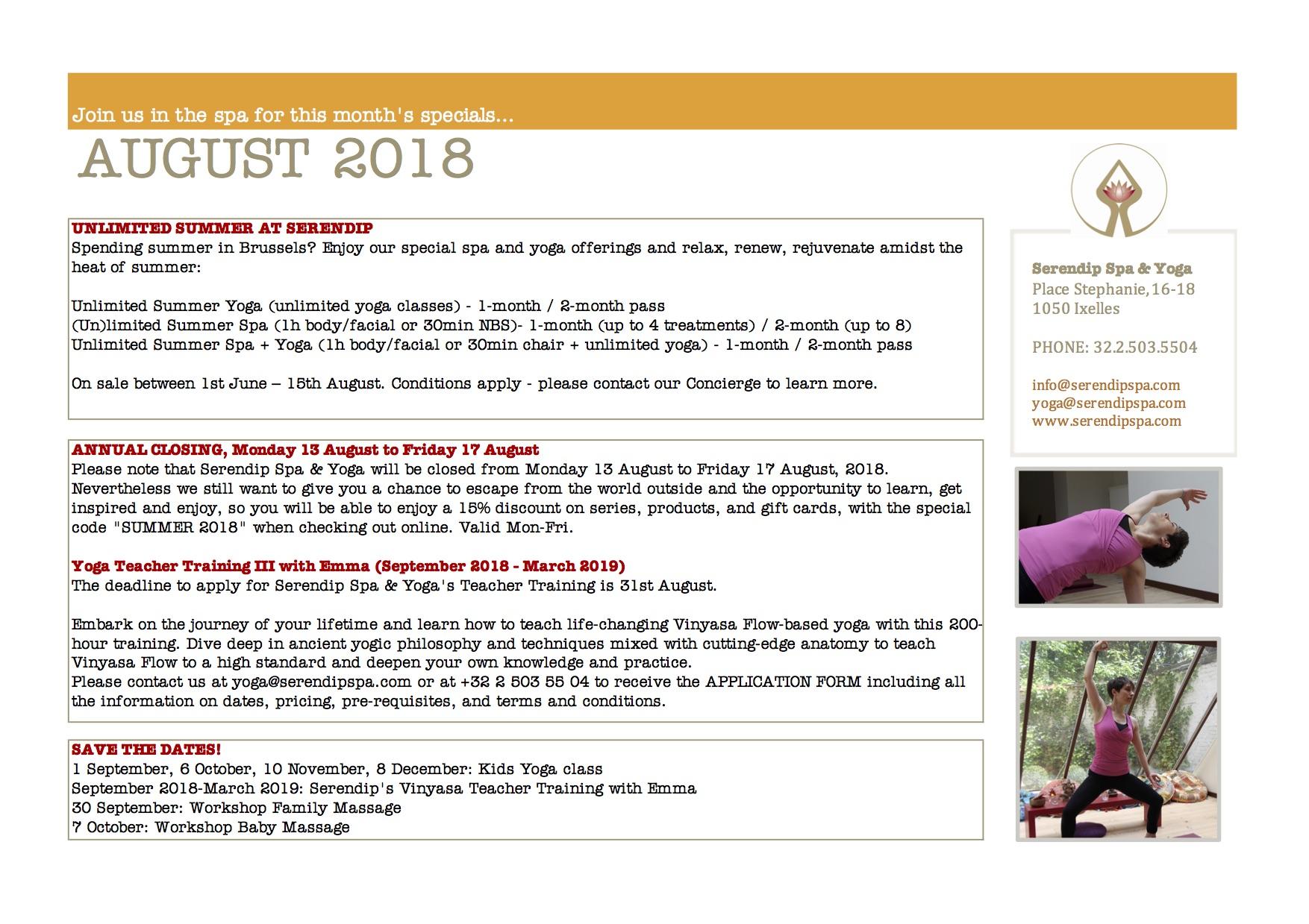 serendip spa and yoga calendar 2018_August A4 BACK.jpg