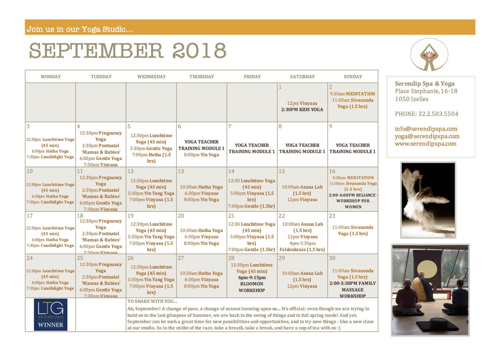 serendip spa and yoga calendar 2018_September A4 FRONT.jpg