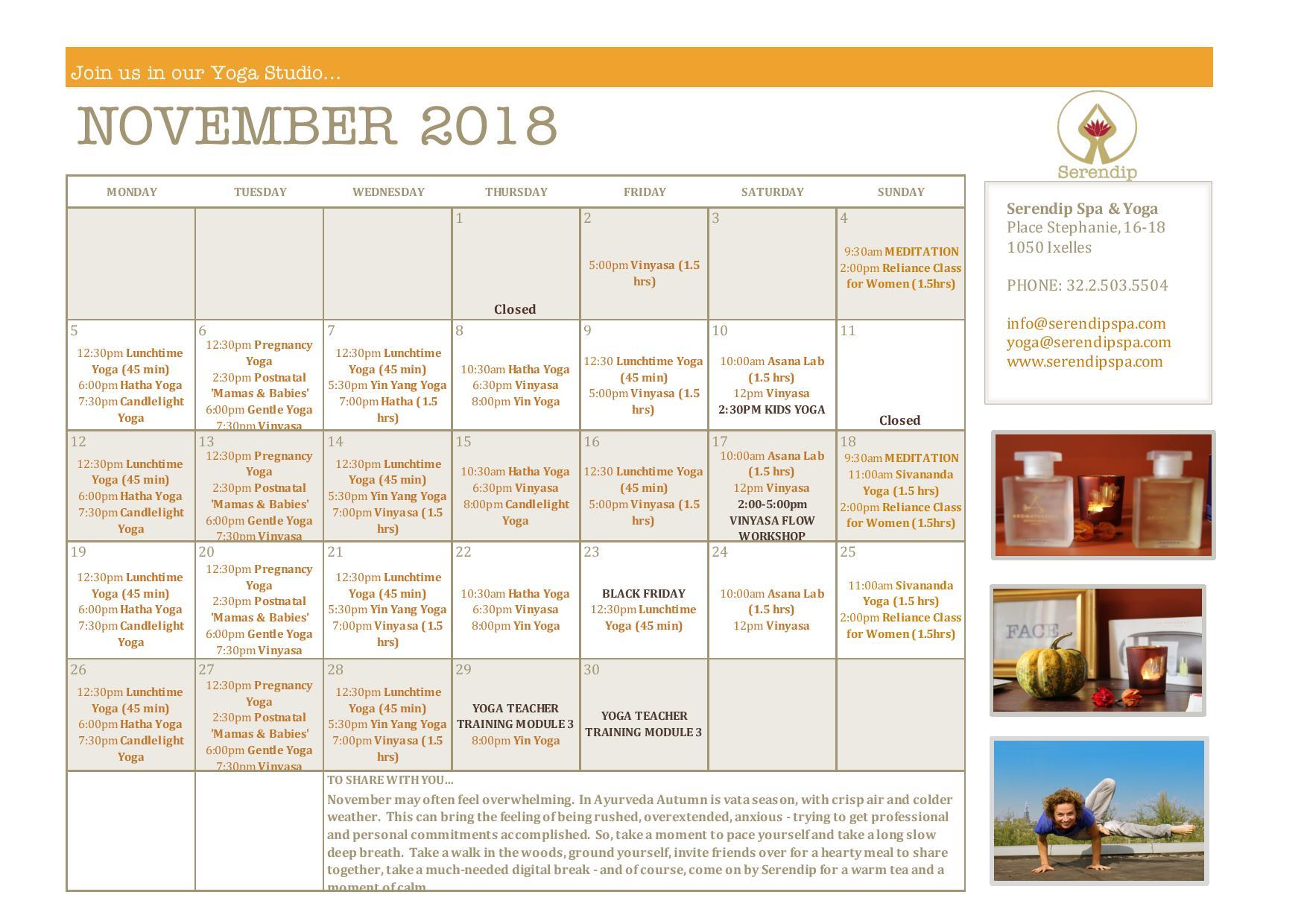 serendip spa and yoga calendar 2018_November A4 FRONT-page-001.jpg