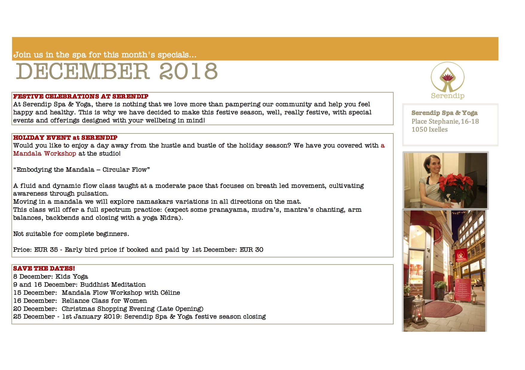 serendip spa and yoga calendar 2018_December A4 BACK.jpg