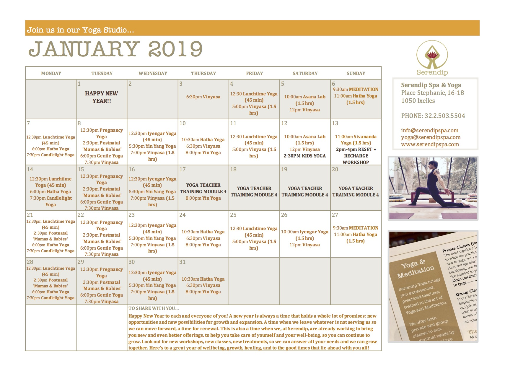 serendip spa and yoga calendar 2019_January A4 FRONT.jpg
