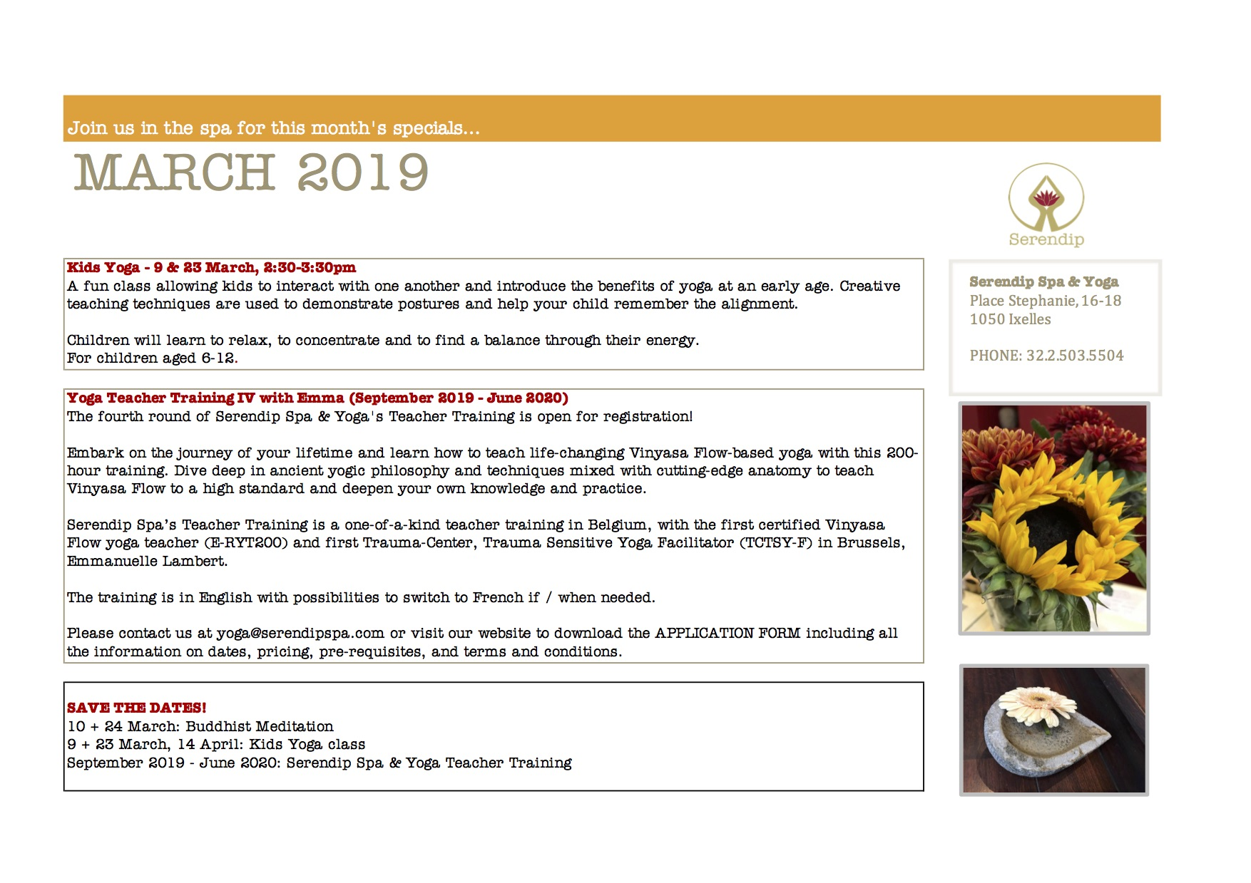 serendip spa and yoga calendar 2019_ March A4 BACK.jpg
