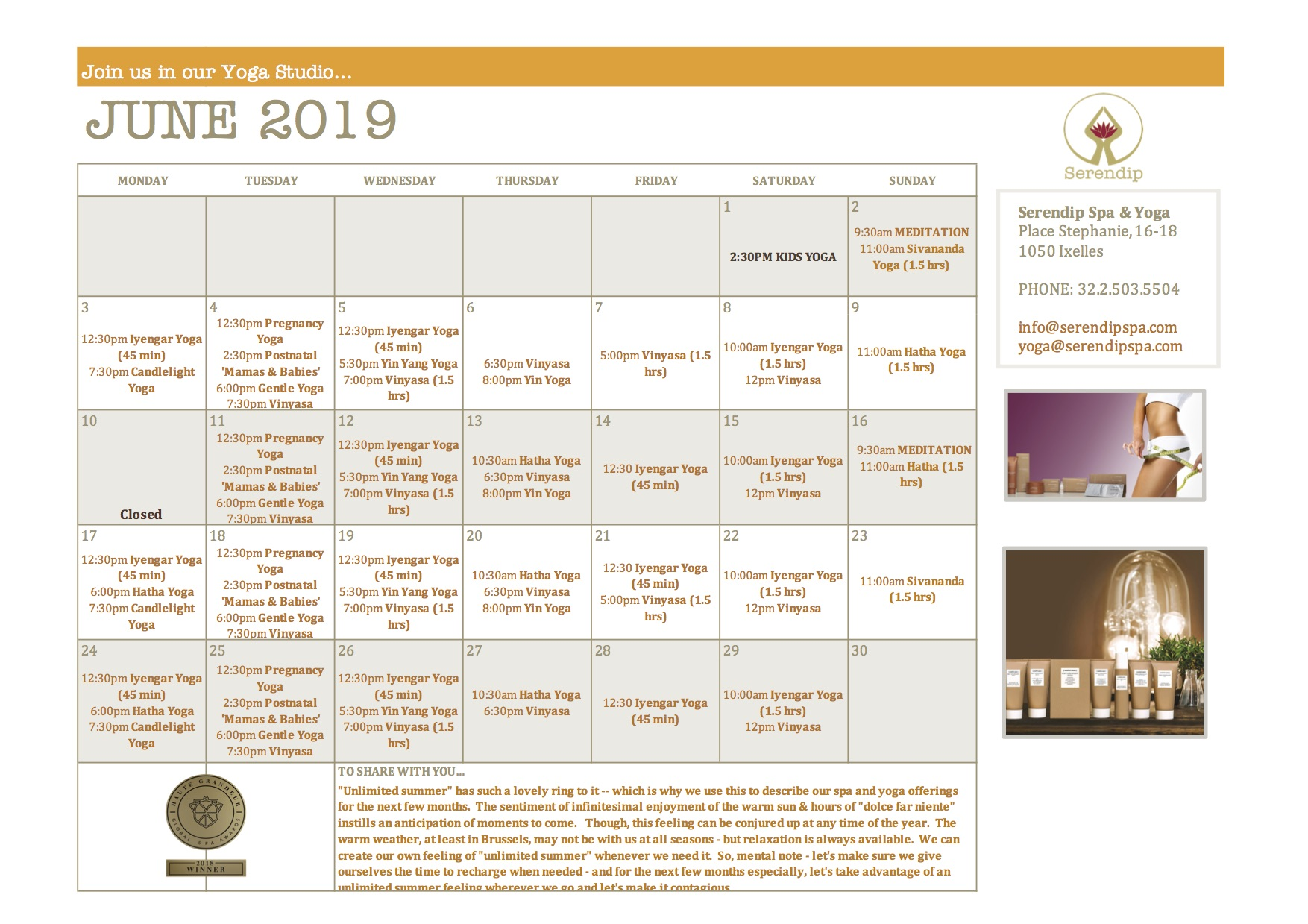 serendip spa and yoga calendar 2019_June A4 FRONT.jpg
