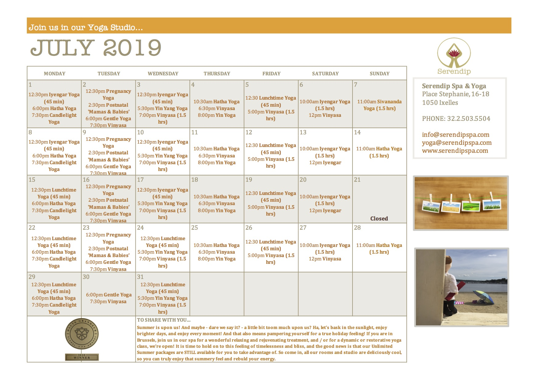 serendip spa and yoga calendar 2019_July A4 FRONT.jpg