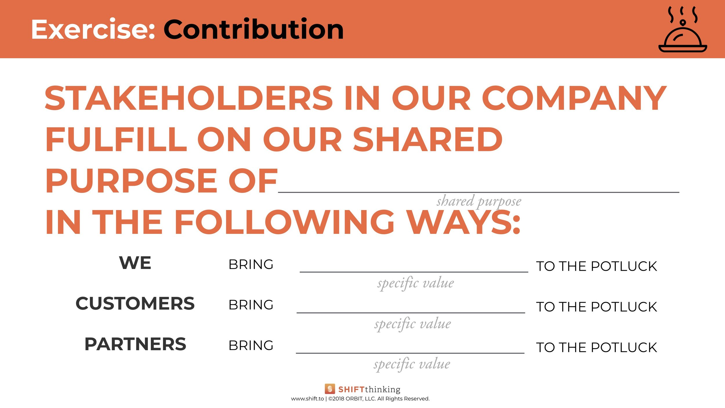 Contribution Worksheet